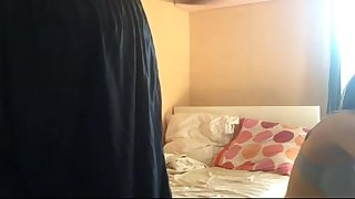 indian couple sex newly married wife giving her man blowjob